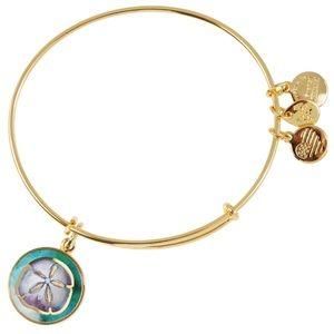 Alex and Ani Jewelry - Alex & Ani Sand Dollar Art Infusion Charm Bangle